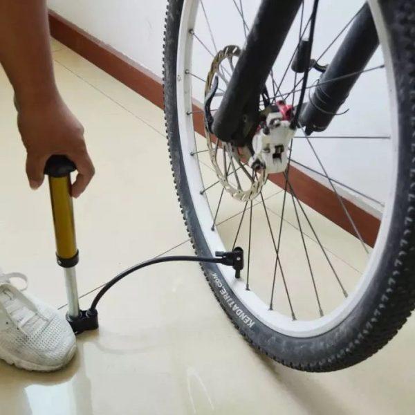Mini El Tipi Bisiklet Tekeri Şişirme Hava Pompası 8