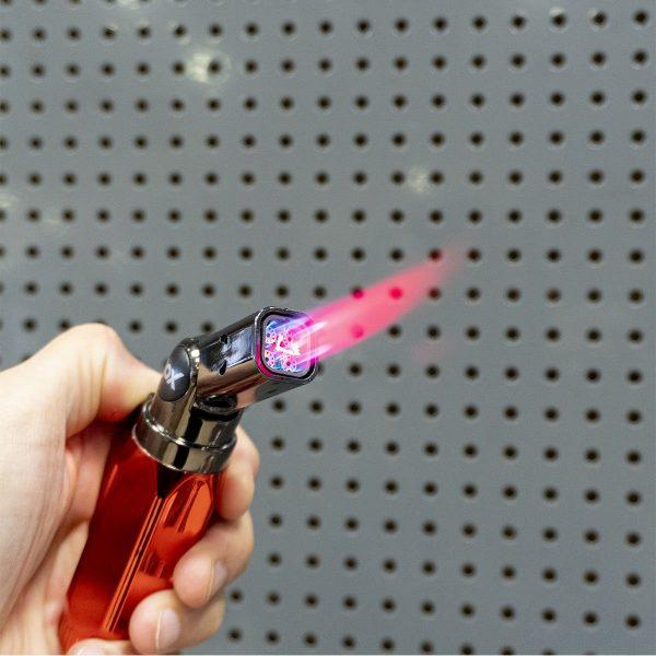 Rox BS-106 Dört Alev Çıkışlı Mini Bütan Gaz Torch Pürmüz 5