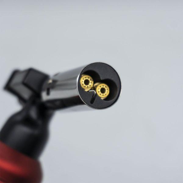 Rox BS-850 İki Alev Çıkışlı Bütan Gaz Torch Pürmüz 4