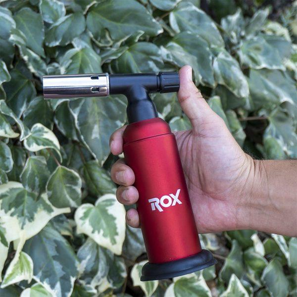 Rox BS-850 İki Alev Çıkışlı Bütan Gaz Torch Pürmüz 6