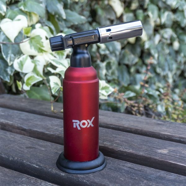 Rox BS-850 İki Alev Çıkışlı Bütan Gaz Torch Pürmüz 7